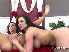 Girl on Girl action with Kendra and toys