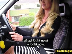 Busty london cabbie doggystyled by black cock