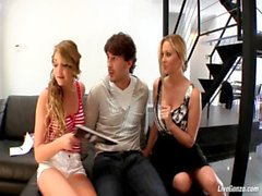 LiveGonzo Jessie Andrews & a mp_ Julia Ann Sweet Teen & a mp_ MILF Threesome