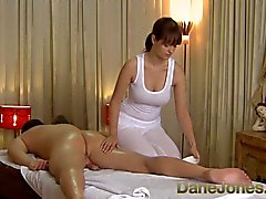 DaneJones HD Sexy massage from cute busty brunette woman