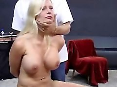 Blonde big natural titts and big butts used