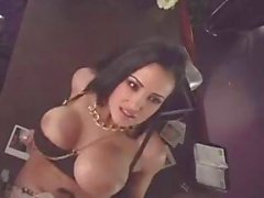 Busty brunette Lisa Ann gives such a hot interview she gets the job and a fuck