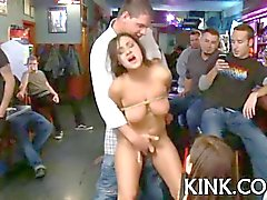 busty barmaid bound bdsm 5
