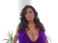 Massive titted BBW filled with black cock