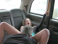 Big tits amateur ass fucked in the car
