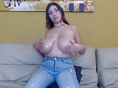 Very Busty Latina Teen Does Hardcore 1