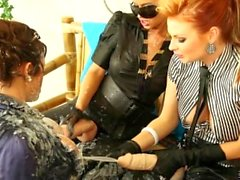 Cindy Dollar and Tarra White Strap-on lesbians