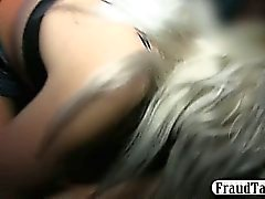 Wife fucks the taxi driver in front of her husband