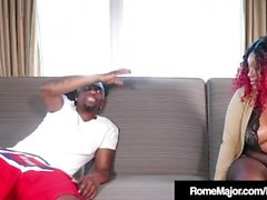 Black Porn Banging With BBC Rome Major & Thick Red!