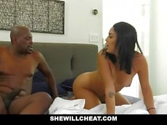 SheWillCheat - Slutty Wife Caught Cheatin With BBC