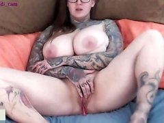 Lustful Huge Boobs American Loves Hot Shows On Cam