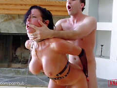 ANALIZED - Veronica Avluv's MILF ass double rammed with ginormous schlongs