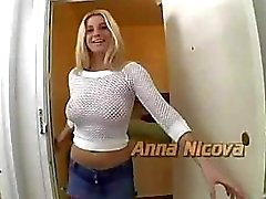 Gangbang Scene with Blond