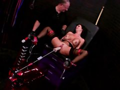 Veronica Avluv enjoys a new sex machine