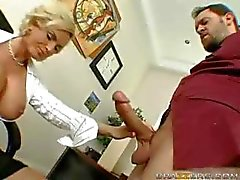Diamond Foxxx Fucks In The Office