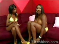 2 Big stacked black lezzies wearing littleobed-black-babe-fucked-by-a-chick-HI-2