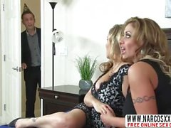 Outrageous Mother-In-Law Julia Ann And Eva Notty In Threesome
