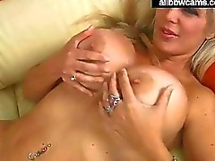Blond slut gives a great time pt 1