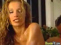 Beautiful Blonde Fucking In A Bathroom