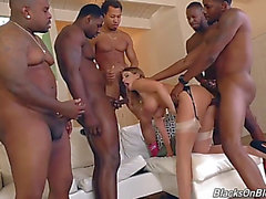 Hung darksome thugs group sex mother i'd like to fuck realtor