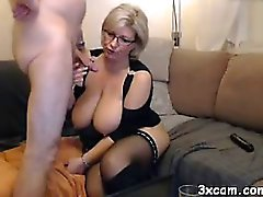 blonde mother fucked good on webcam