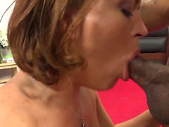 Black dick surprised a horny chick