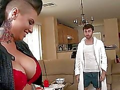 Massive boobs slut Christy Mack analyzed