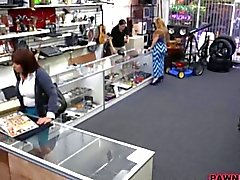Married wife fucked by a pawnshop keeper real nice
