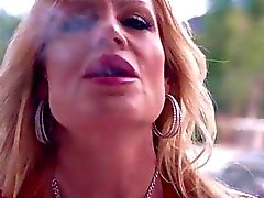 Busty Kelly Madison Is Smoking Hot With A Stogie