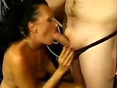 Amateur nympho with a wonderful ass loves to suck and fuck a big dick