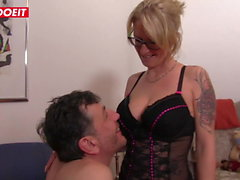 LETSDOEIT - Juicy Hardcore Fucking With Busty German MILF
