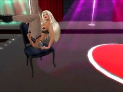 Second Life Gentlemens Club Feature Attraction The Stripper