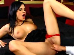 Seductive wife gets a cock inside of her