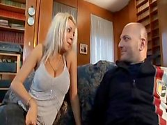 Nikky Blond shows off her skills at sucking and getting anal