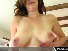 Alice Chambers Busty Milf Titty Fucks And Sucks Cock