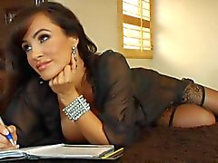 Lisa Ann DP'd by a couple of black cocks
