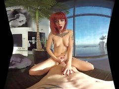 badoinkvr Virtual Reality POV REDHEAD BABES Compilation Part 1