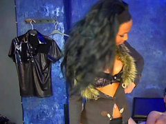 German young bdsm ebony femdom teen first time session