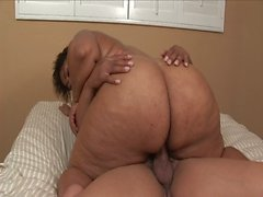 Bbw ebony nailed hard like never before