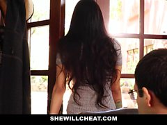 SheWillCheat - Hot Wife Brenna Sparks Fuck Boy Toy