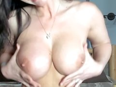 Big Oiled Tits in Pairs and Solo Compilation.