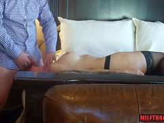 big tits milf sex and cumshot video
